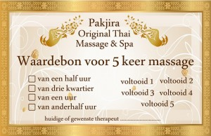 voucher 5 sessions front SMLL